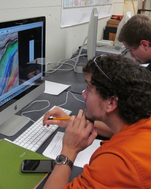 Students use the HorizonCube tool.